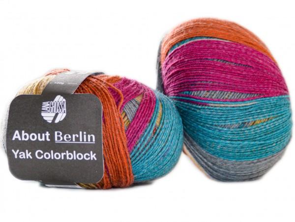 Meilenweit About Berlin Yak Colorblock von Lana Grossa
