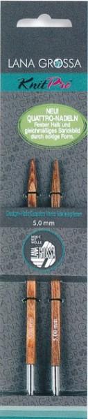 Nadelspitzen Quattro aus Design-Holz von Lana Grossa