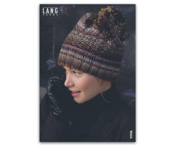 Flyer Mütze aus Viva - LANG YARNS, Herbst 2019