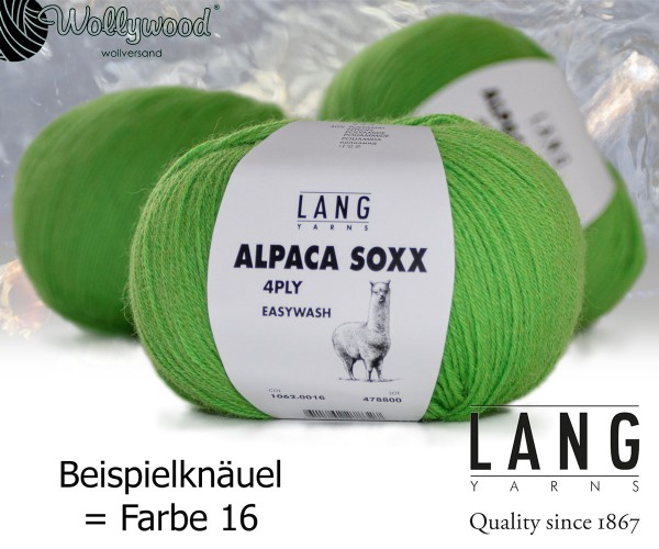 Alpaca Soxx 4-fach von LANG YARNS