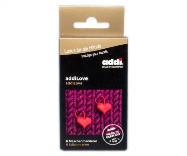 addi Love - 6 Maschenmarkierer