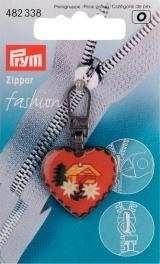 Fashion-Zipper Alpen Herz/Haus 482338 von PRYM