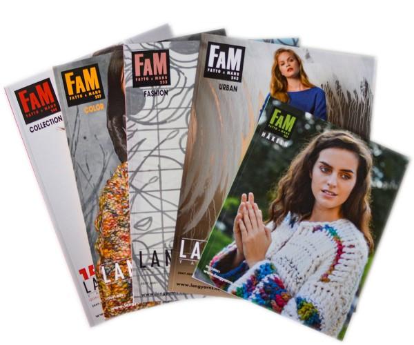 """Fatto a Mano """"Sparpaket"""" enthält 5 Hefte von Lang Yarns"""