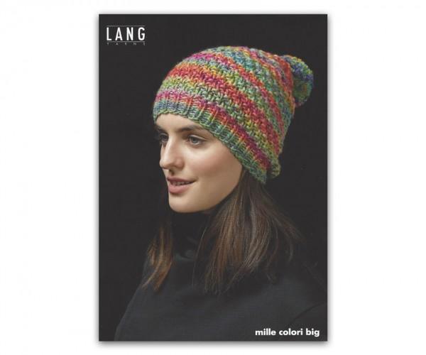 Flyer Mütze aus Mille Colori Big - LANG YARNS, Herbst 2018