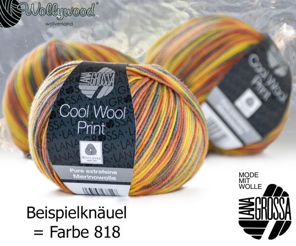 Cool Wool Merino Print von Lana Grossa