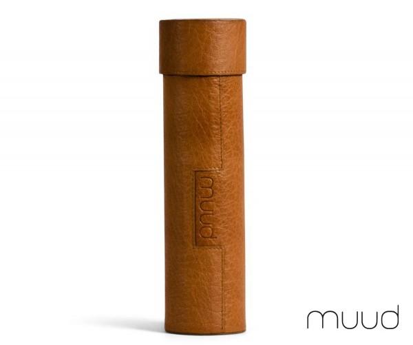 Upsala - Handgefertigte Lederbox von muud (whisky)