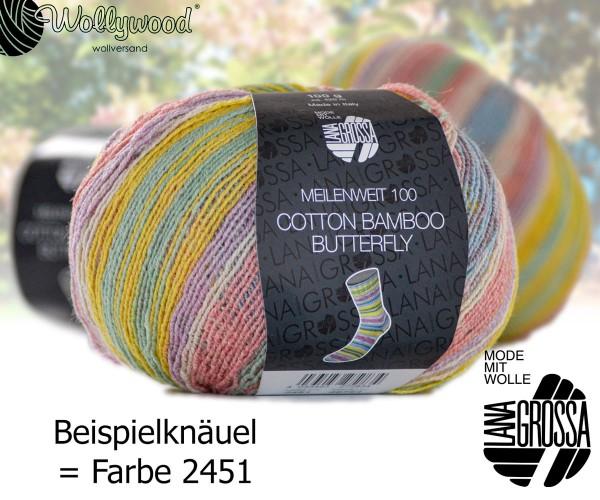 Meilenweit 100g Cotton Bamboo Butterfly von Lana Grossa