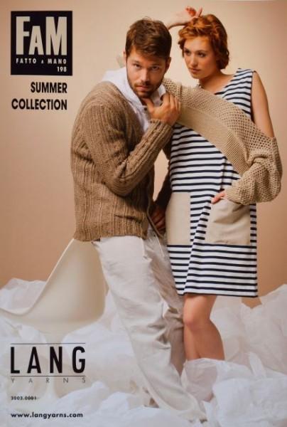 Fatto a Mano 198 Summer Collection von LANG YARNS, Frühjahr 2013