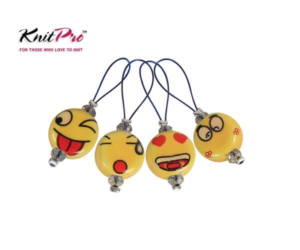 Maschenmarkierer Smileys 12 Stück von KnitPro